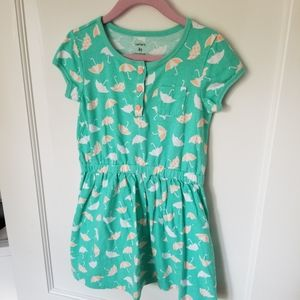 Mint Green Carter's Umbrella Dress